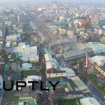 台南地震の生存者が続々と救助、ドローン動画も公開される