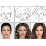 ラフスケッチから高度な肖像画像を生成するAI登場...中国・CAS