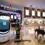 タイの有名ショッピングモールで5Gサービスロボットが稼働