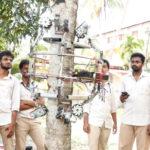 インドでは木に登りココナッツを収穫するロボット「Amaran」が開発されている